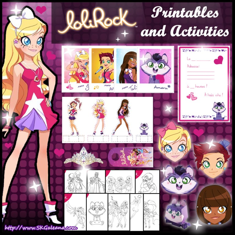 Free Lolirock Printables And Activities Skgaleana