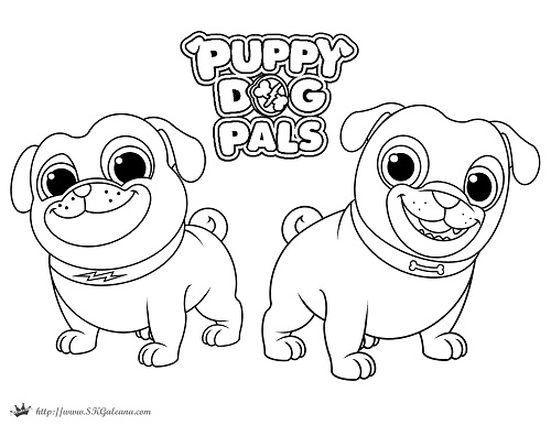Puppy Pals Coloring Pages Coloring Coloring Pages   Pug Animal Coloring  Pages