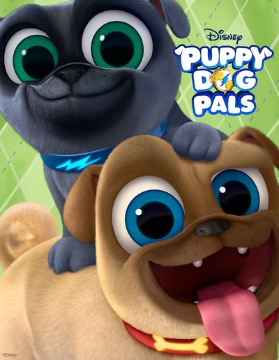 Disney S Puppy Dog Pals Art Of Pug