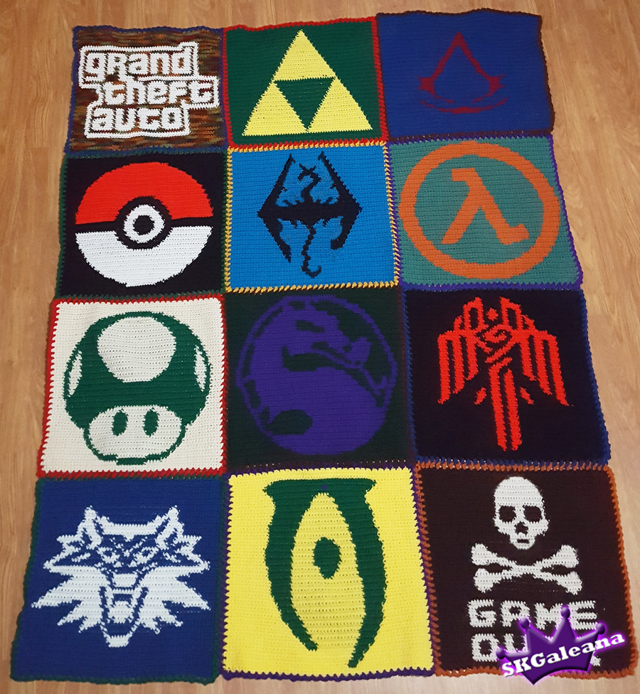 The Most Adorable Crocheted Video Game Characters   Girl Gone Geek   976x900