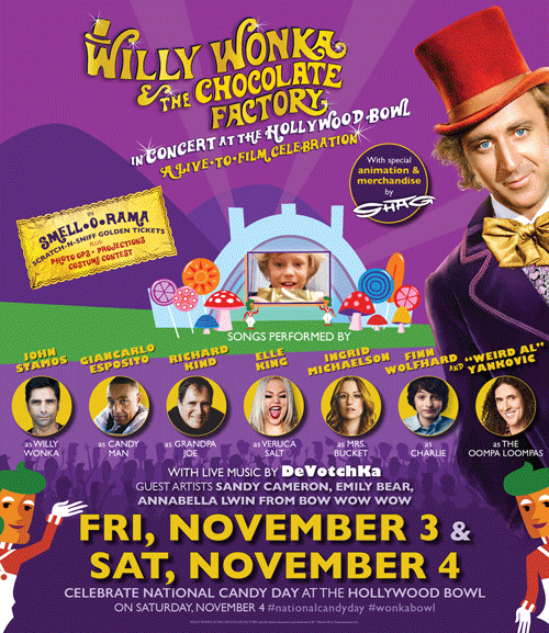 Willy Wonka Live To Film Two Night Epic Event Skgaleana