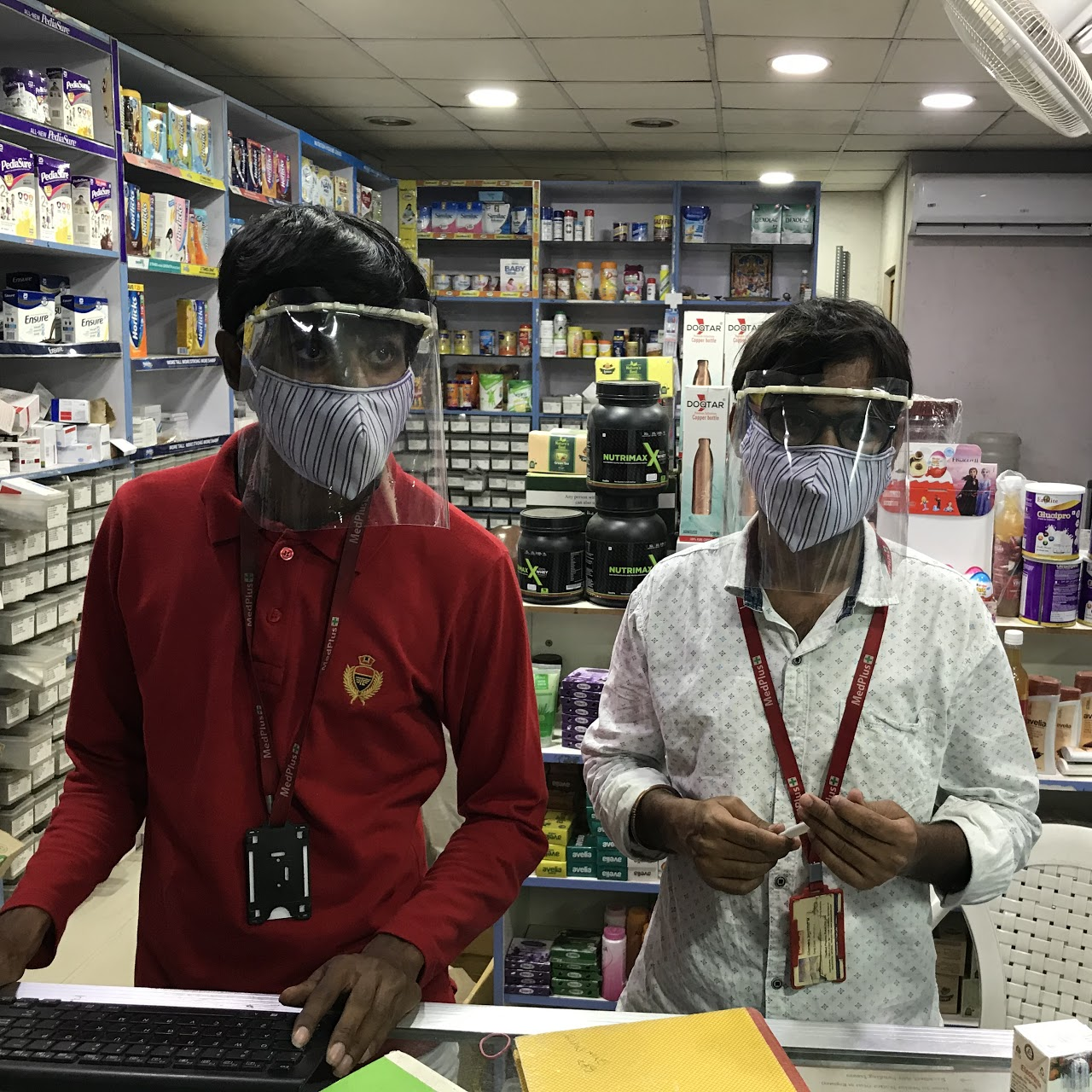Disposable Face Shield Mask For Safety Purpose Visor 4