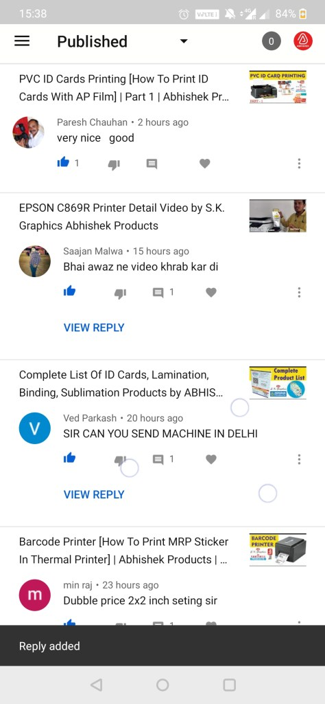 customer client reviews for abhishek products sk graphics 5