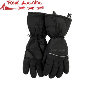 Перчатки с подогревом RedLaika RL-P-03 (AA) на батарейках черные