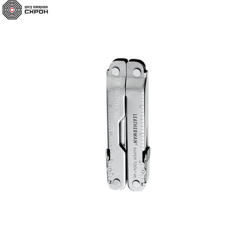 Мультитул LEATHERMAN Super Tool 300 цвет стальной 19 инструментов