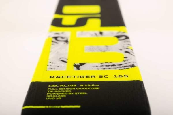 narty volkl racetiger sc yellow 2020 plate