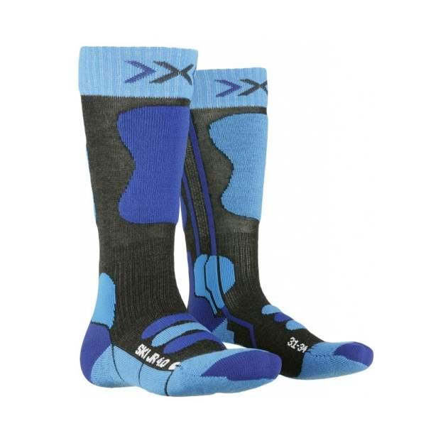 skarpety narciarskie x-socks ski jr 40 blue