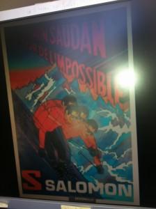 Sylvain Saudan Filmplakat Salomon