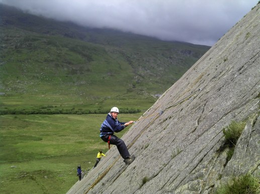 Its not all steep climbing
