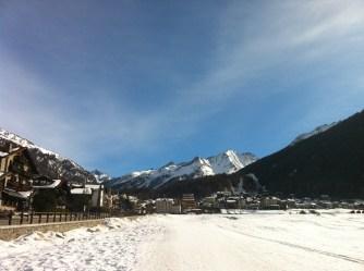 cogne skiiing