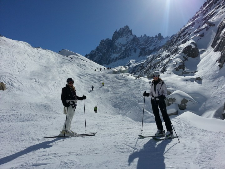 Italian Vallee Blanche trip