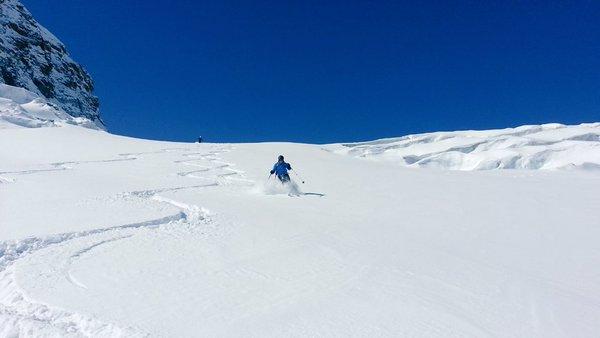 Off piste in Zermatt