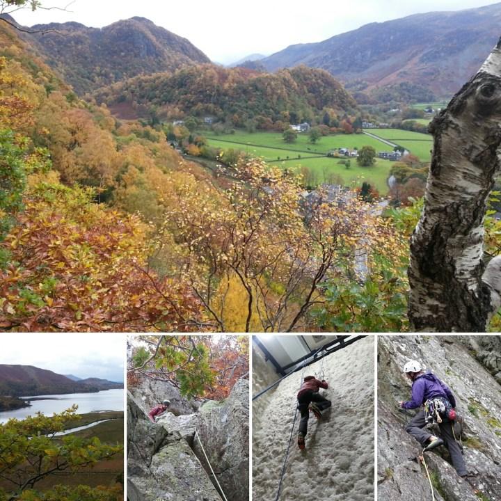 Lake district Climbing course