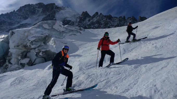 Great final days offpiste skiing
