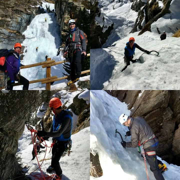 #iceclimbing tuition