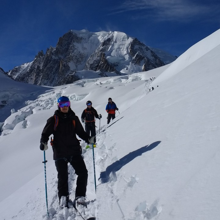 final day #aigdumidi #valleblanche