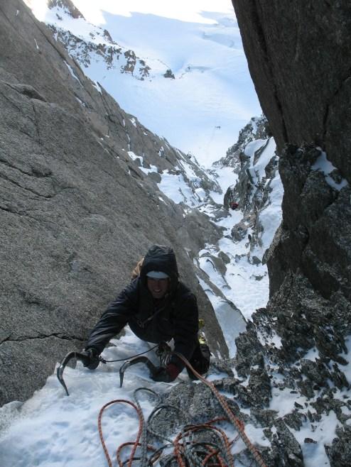 High Mountain climbing