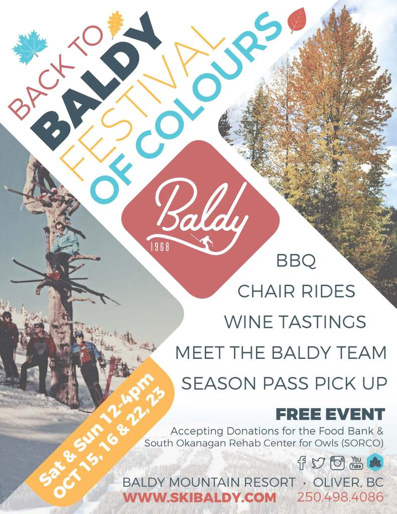baldy, festival of colours, fall, event