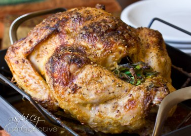 Asian Rubbed Thanksgiving Turkey