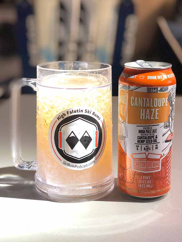cantaloupe haze from carton