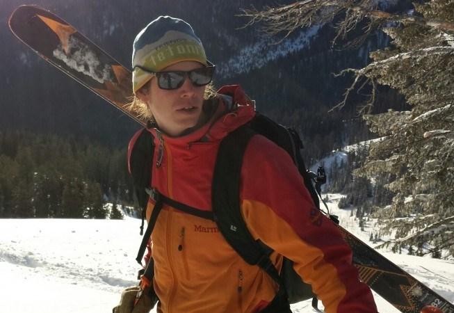 Toby Stegman on Teton Pass
