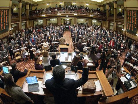 How a Bill Becomes Law in Georgia