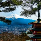 Mount Fuji; Japan's highest and most famous mountain