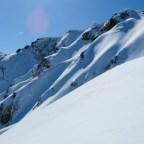 Shakushidake; the smaller sister mountain