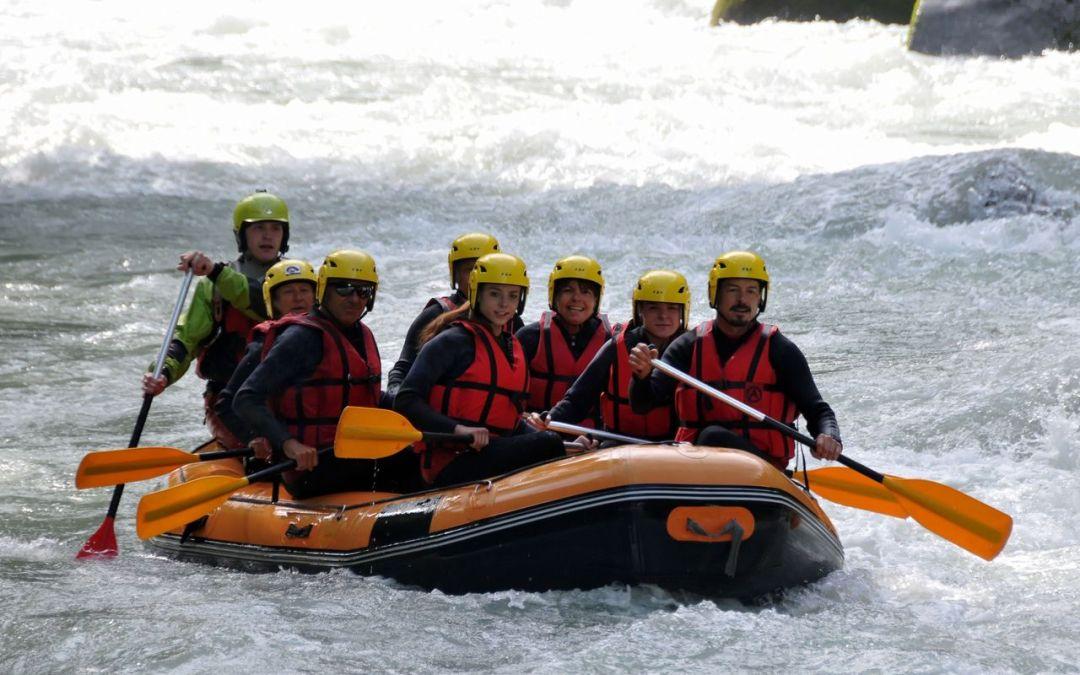 Rafting sur la Dranse 2017
