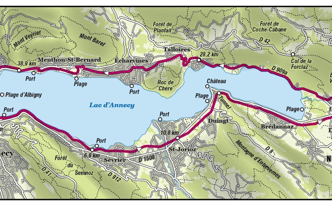 Sortie Vélo – Tour du Lac d'Annecy
