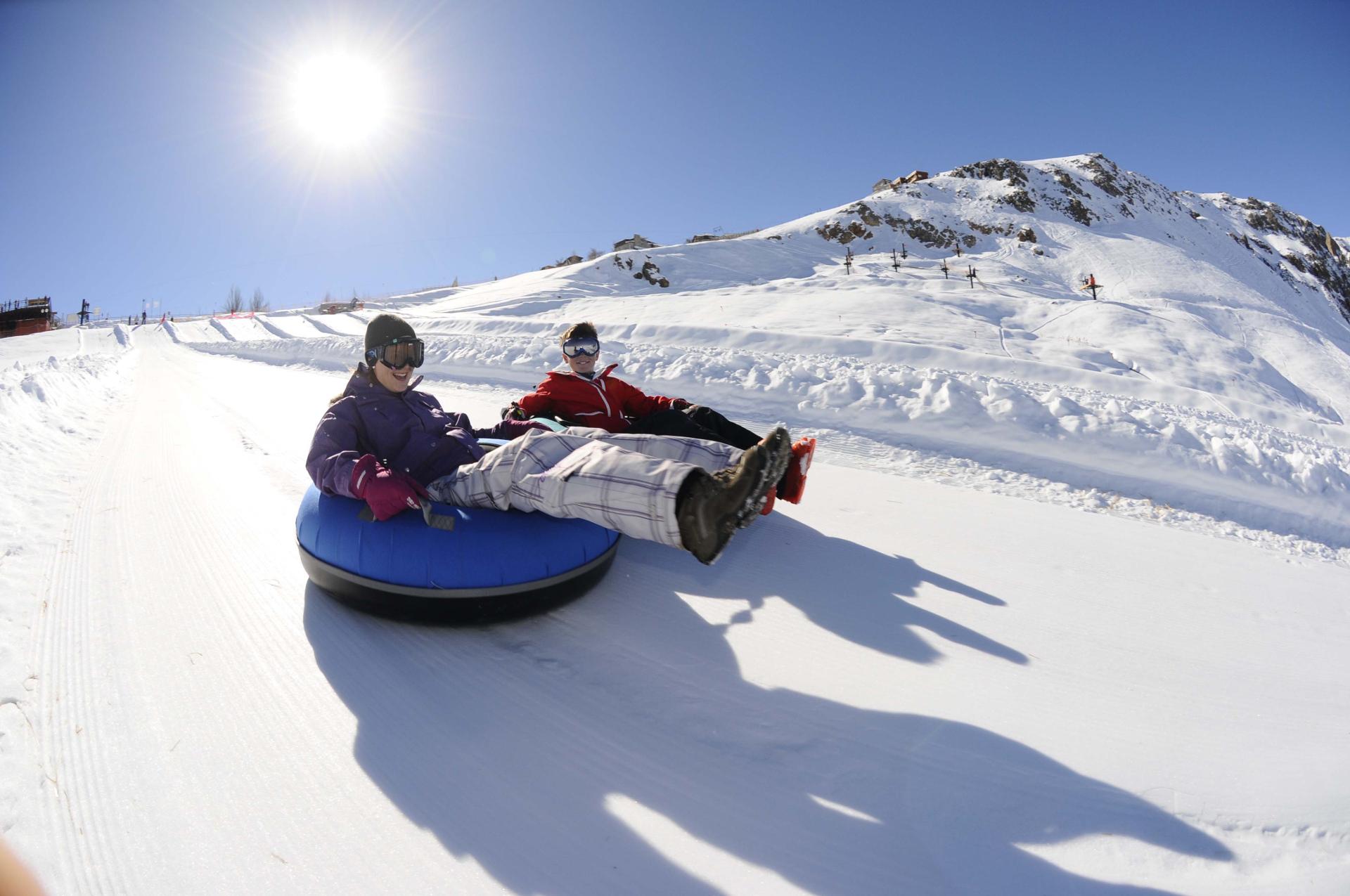Centros de Ski _ Tubing Farellones