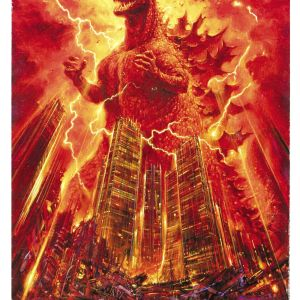 The Disquieting Guest — The Sublime Terror of Kaiju