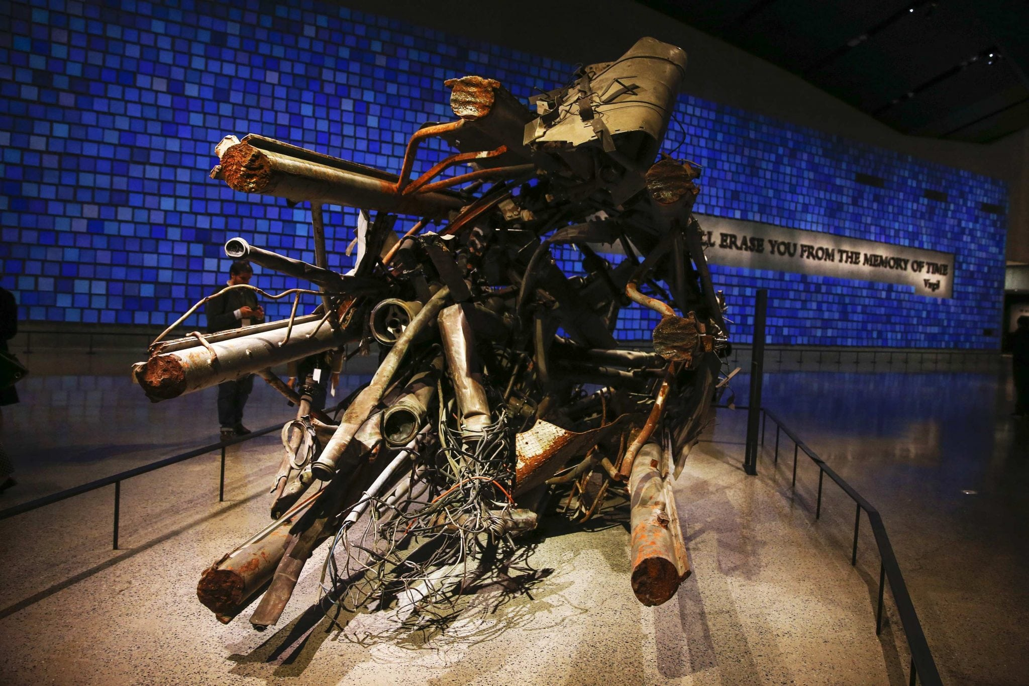 The Antenna From The North Tower Of The World Trade Center