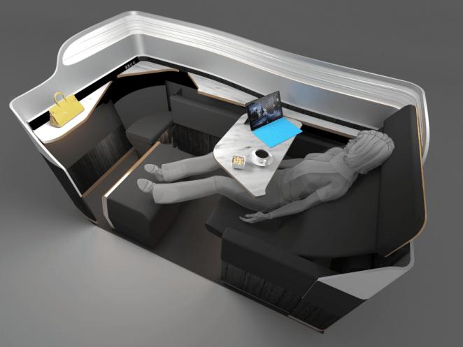 B:E Aerospace Breakout seat 4