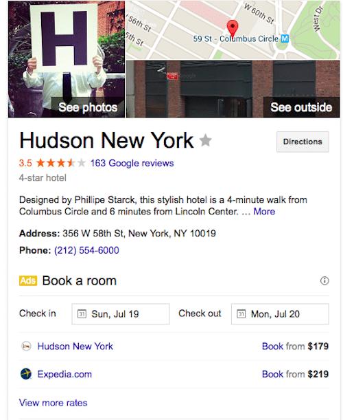 hudson ny google search