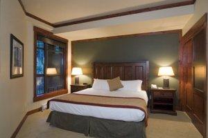 First Tracks Whistler Ski in Ski Out Hotel Bedroom