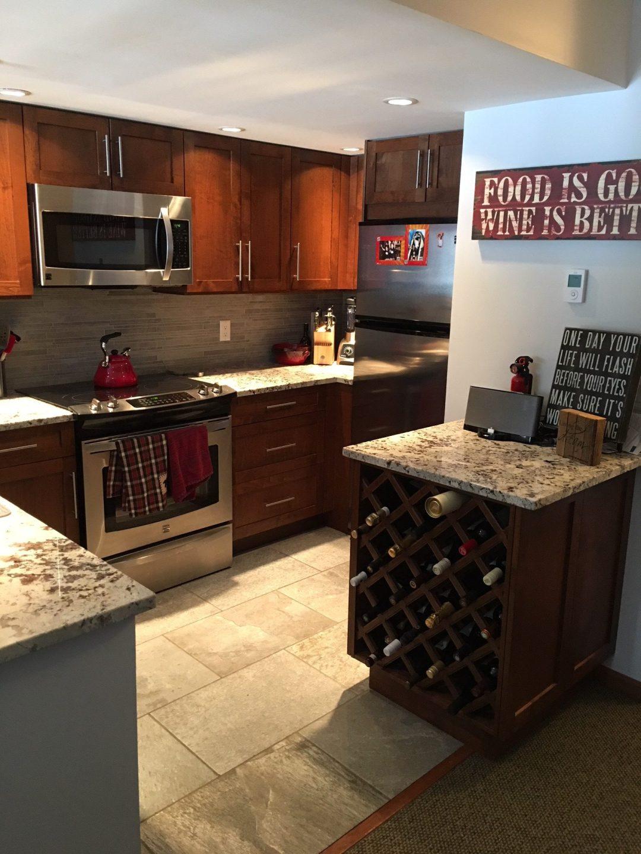 3 Bedroom Whistler Village Accommodation Kitchen