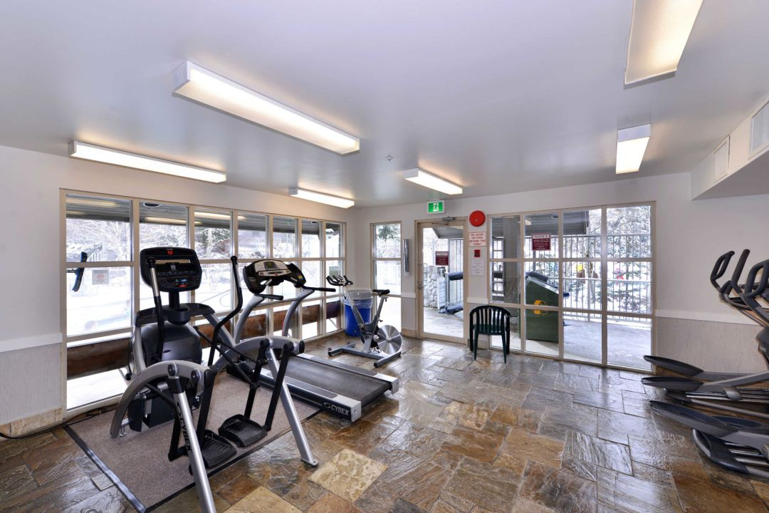 Aspens 1 Bedroom Unit 209 GYM