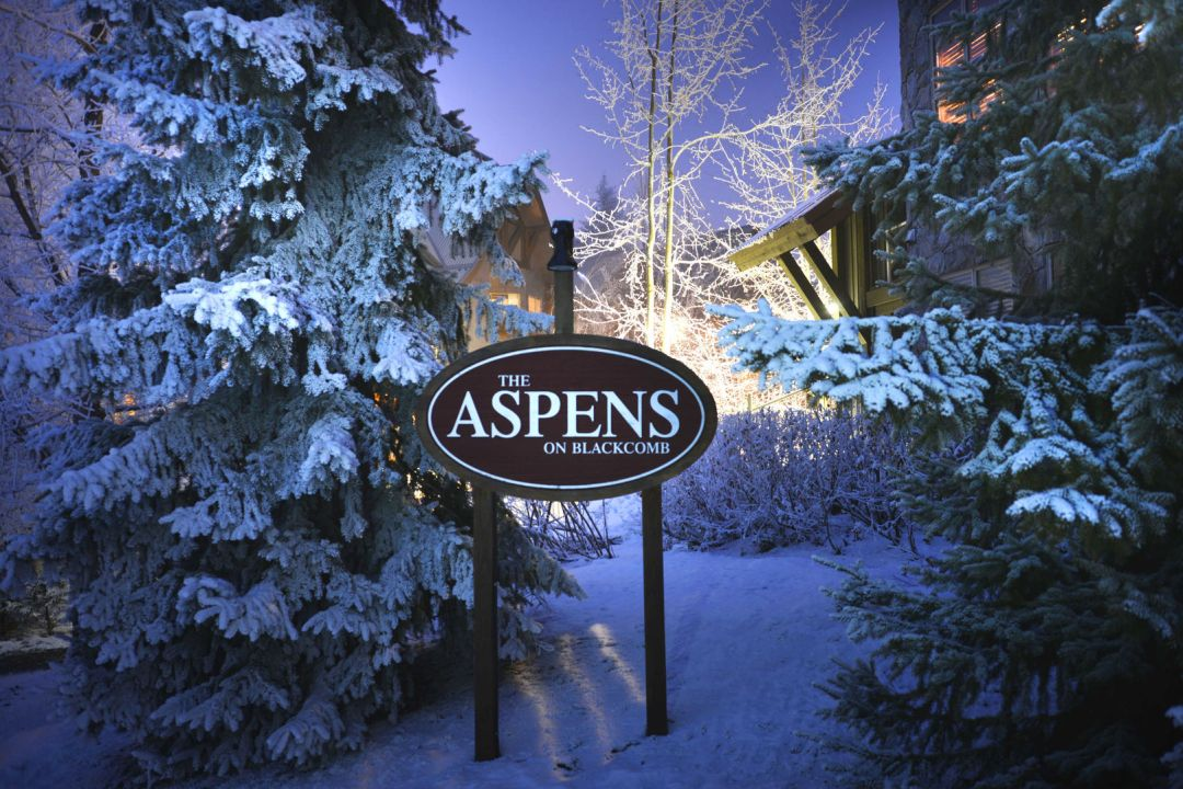 Aspens 2 Bedroom Unit 132 SIGN