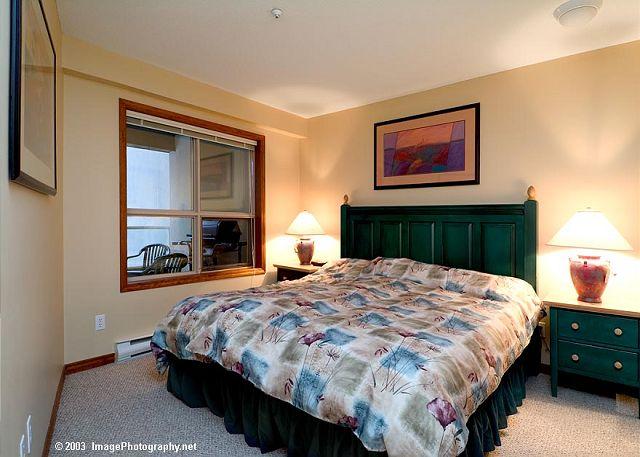 Aspens on Blackcomb 239 Bedroom