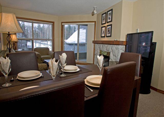 Aspens on Blackcomb 239 Dining Room