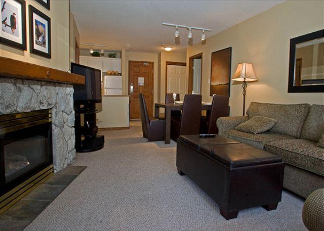 Aspens on Blackcomb 239 Living Room