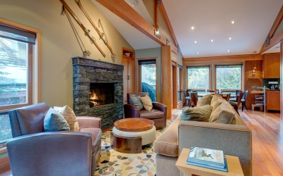 Whistler Luxury Ski In Ski Out 4 Bedroom Townhome