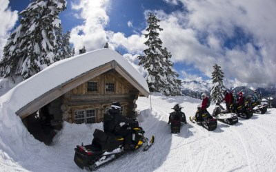 Snowmobile Tours Canadian Wilderness