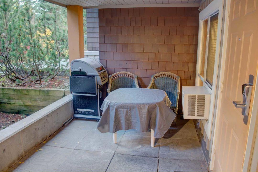 Glacier's Reach 1 Bedroom Unit 101A BBQ