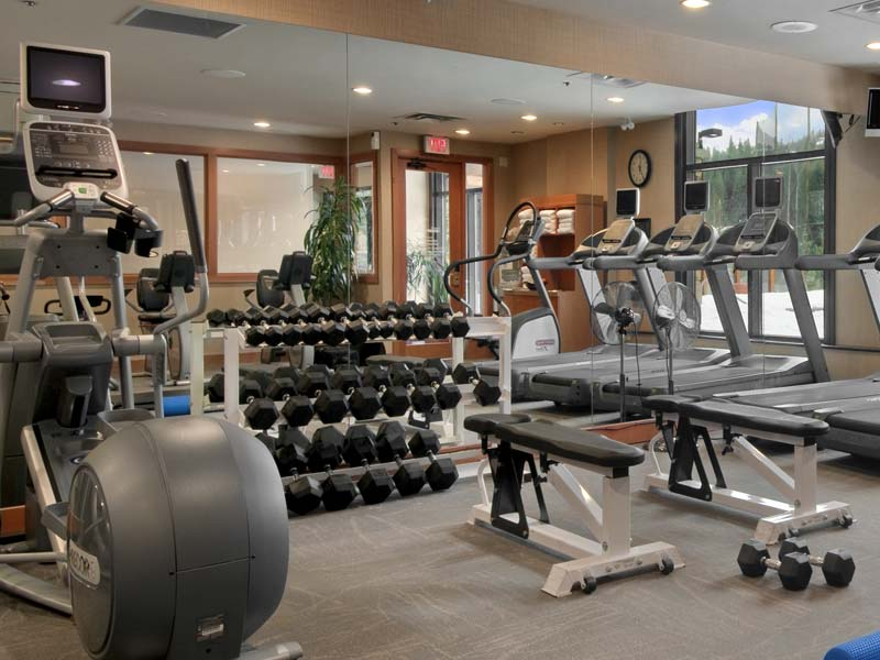 Hilton Whistler Hotel Fitness