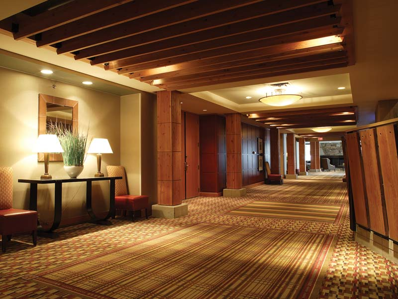 Hilton Whistler Hotel Hall