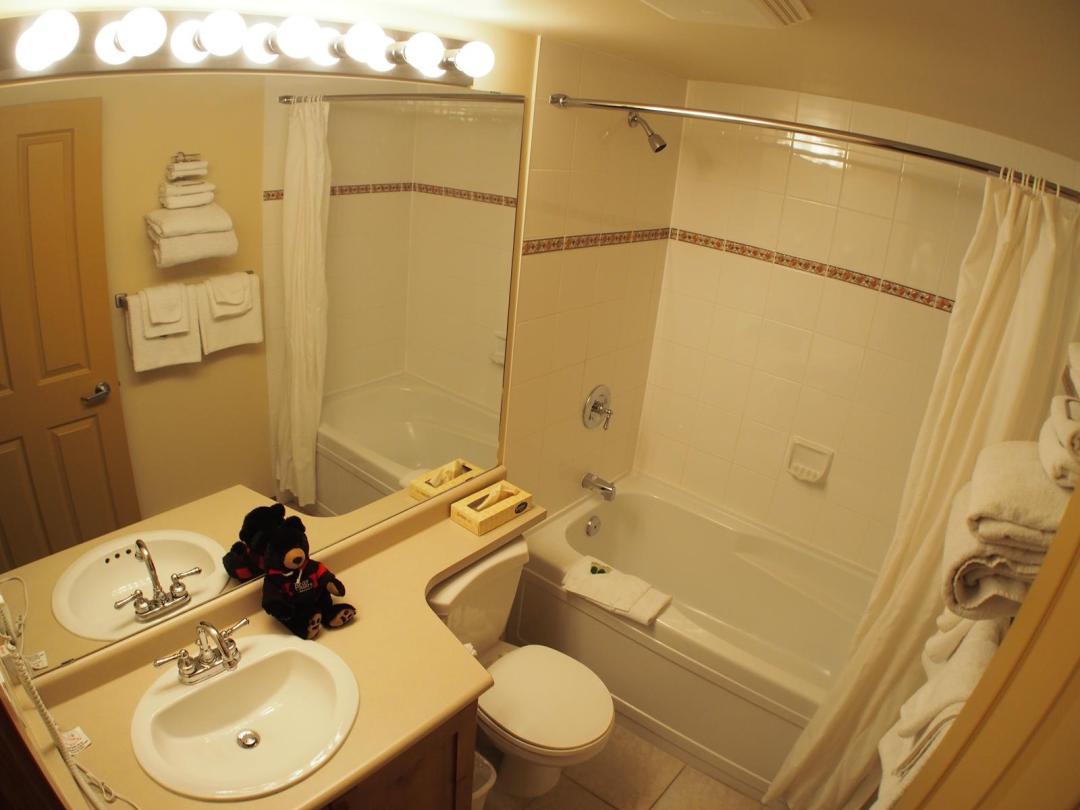 Fireside Lodge Two Bedroom Unit #302 BATH