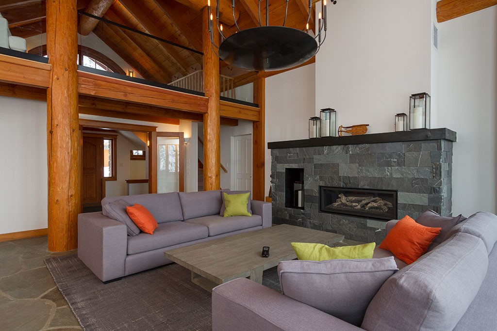 Peak Chalet Whistler Luxury Vacation Living Space