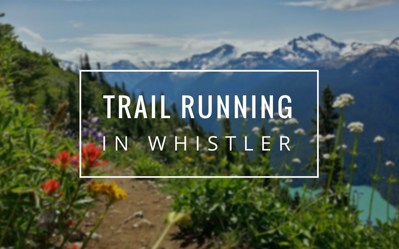 Trail Running in Whistler